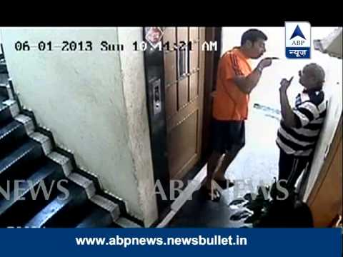 ABP News Exclusive: CCTV footage of Aditya Pancholi assaulting his neighbour