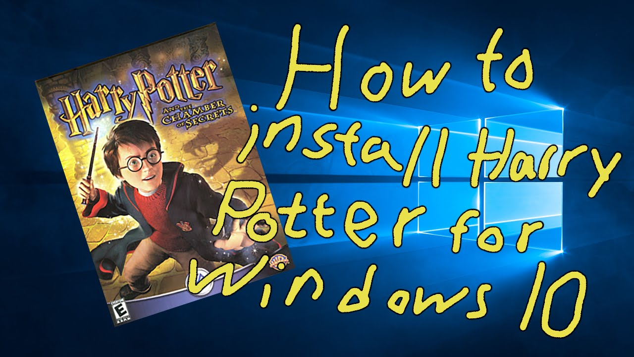 How to Install Harry Potter and The Chamber of Secrets for Windows Harry Potter Et La Chambre Des Secrets Pc Download on