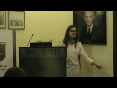 """Lecture on """"Introduction to International Human Rights Law"""" by Minahil Khan Part 1"""
