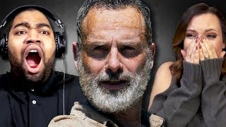 Fans React to Rick's Last Episode on The Walking Dead