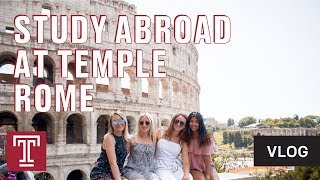 VLOG | My Study Abroad Experience At Temple Rome
