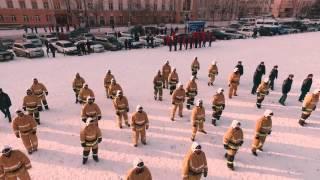 Флешмоб в честь 25-летия МЧС России. Республика Бурятия