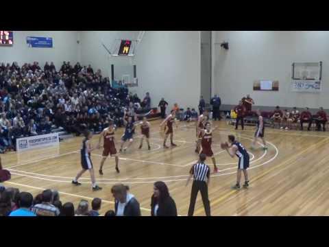 2015 U16 Australian Basketball Championships - Qld North (#5 Ben Wright) vs Vic Metro