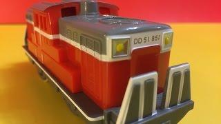 【多美小火車】日本國鐵DD51型柴油機車 (01654 zh)