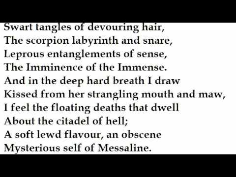 """""""Messaline"""" by Aleister Crowley (read by Tom O'Bedlam) from YouTube · Duration:  3 minutes 54 seconds"""