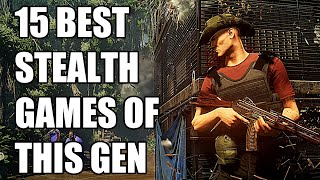 15 BEST Stealth Gaṁes of this Generation