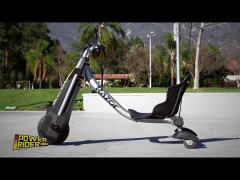 Chạy thử xe điện 3 bánh trẻ em Drift Razor