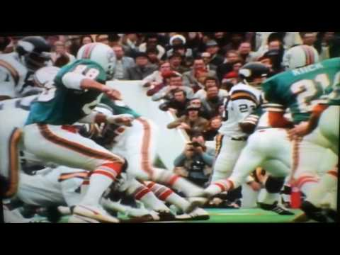 Super Bowl VIII Highlights: Miami Dolphins vs. Minnesota Vikings (1974)