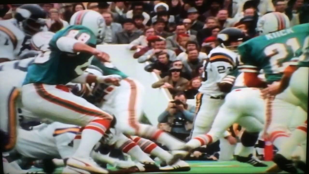 Super Bowl VIII: Miami Dolphins vs. Minnesota Vikings ...