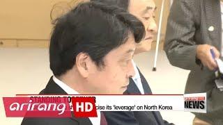 British & Japanese PMs on same page when handling N. Korea