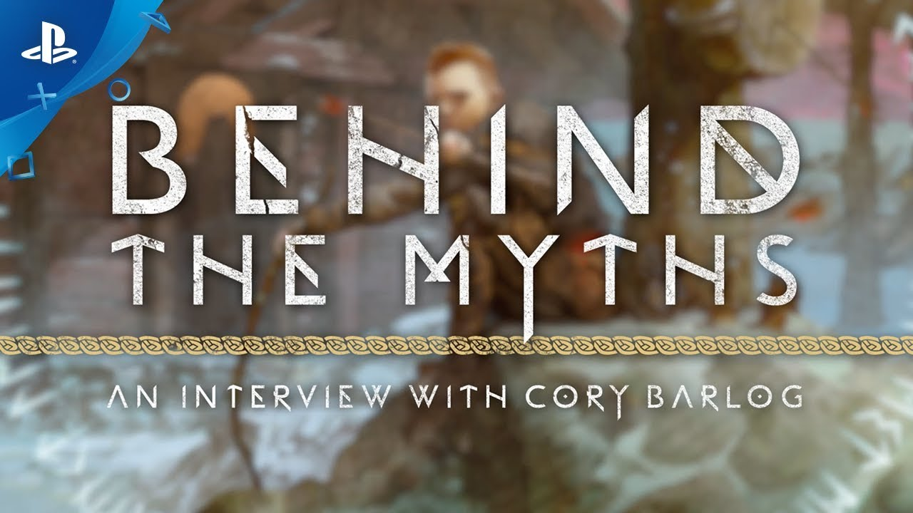 God of War | Behind the Myths: Cory Barlog Interview