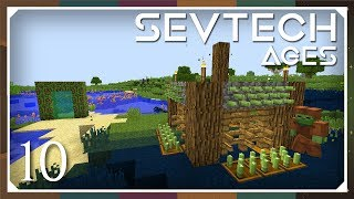 Sevtech: Ages | Hunting Dimension Mob Farm! | E10 (SevTech