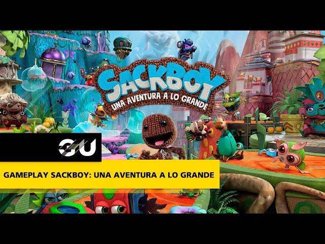GAMEPLAY Sackboy: Una aventura a lo grande
