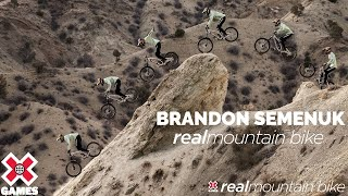 Brandon Semenuk: REAL MTB 2021 | World of X Games