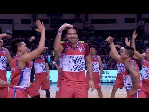 PBA South All-Stars' dance number! | PBA All-Star 2019