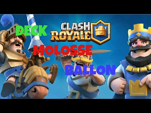 Clash royale deck molosse ballon youtube for Clash royale deck molosse