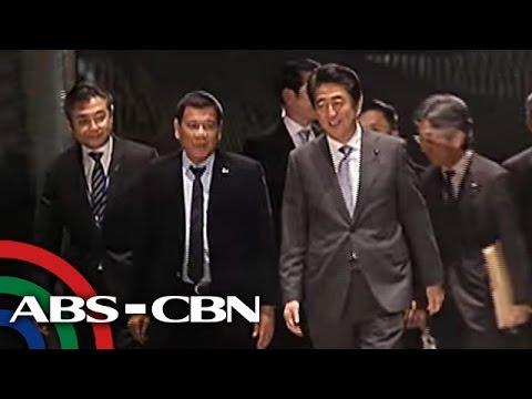 TV Patrol: Japan PM Abe, bibisita sa bahay ni Duterte sa Davao