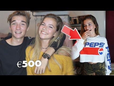 DIT CADEAU IS 500 EURO?! & EEN AANZOEK DOEN  - WIJ KOPEN ELKAARS CADEAUTJES MET JADE!