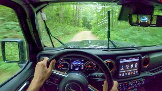 2020 Jeep Gladiator Mojave on Dirt Roads- POV Test Drive by Tedward (Binaural Audio)