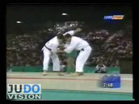 JUDO 1996 Olymics: Jimmy Pedro (USA) - Sebastian Pereira (BRA)