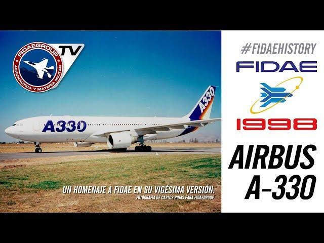 [Exclusivo] Presentación Airbus A-330 en FIDAE 1998