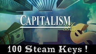 Big Giveaway 100 Steam Keys for Capitalism Plus (Ended)