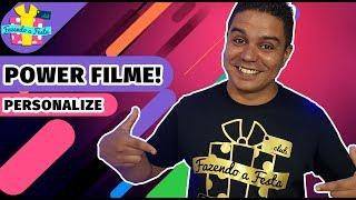 Camiseta Preta de Algodão Personalizada com Power Film e Ferro de Passar!