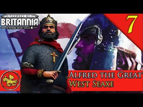 KINGDOM OF ENGLAND FORMED! Total War Saga: Thrones of Britannia: West Seaxe Campaign Gameplay #7