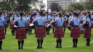 Simon Fraser University World Pipe Band Championships Sat Qual Medley 2013