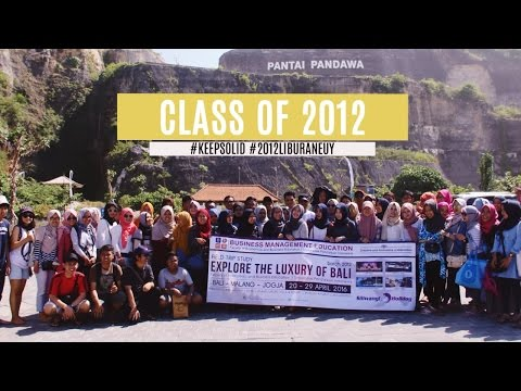 EXPLORE THE LUXURY OF BALI | Class Of 2012 Field Trip Study (PC Only)