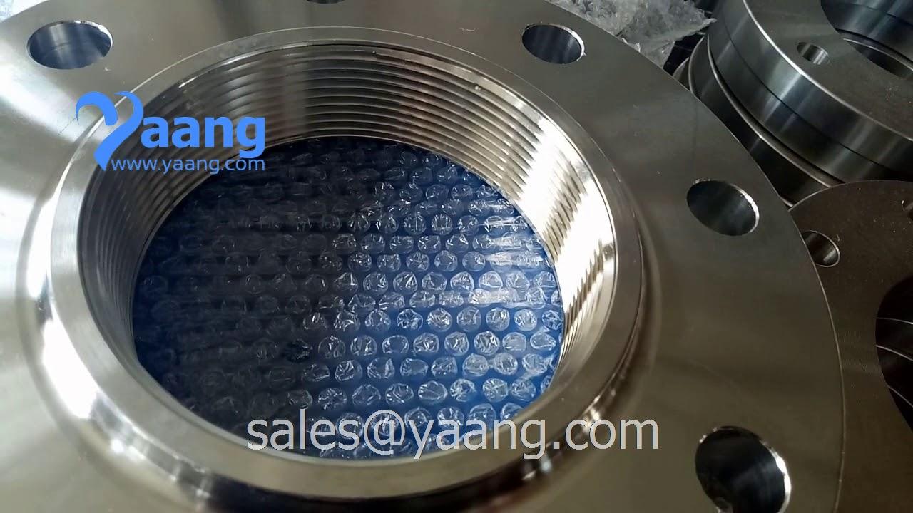 ANSI B16 5 304L Threaded Flange RF 4 Inch CL150