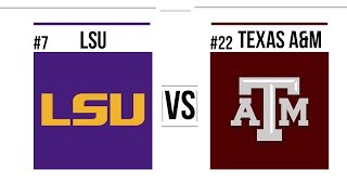 Week 13 #7 LSU vs #22 Texas A&M Full Game Highlights MUST WATCH 7OT's