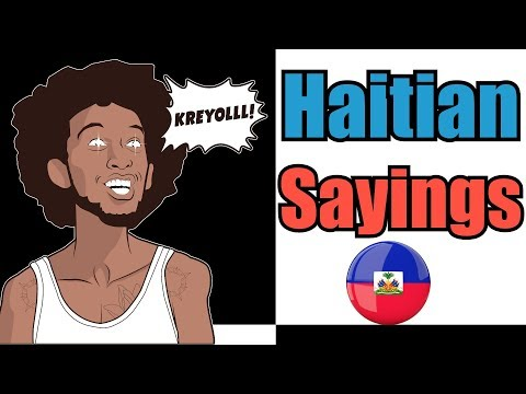 Haitians have the funniest lines