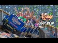 The Voyage Roller Coaster 360° POV | Holiday World