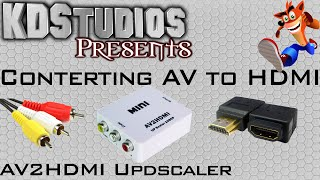 How to Convert AV / Composite to HDMI - AV 2 HDMI Review & Comparison - Converter Box