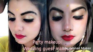 Makeup tutorial /party makeup /wedding guest makeup /wedding makeup tutorial