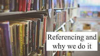 Why do we reference? | UOW Library