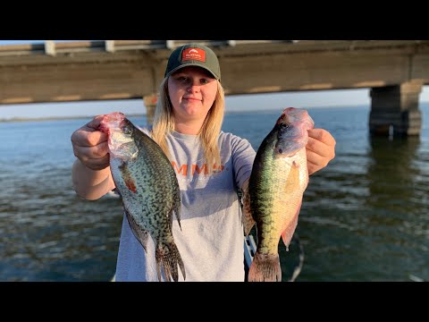 How To Catch Fall Crappie Under Bridge
