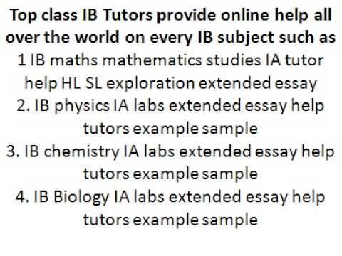 Ib business and management extended essay sample