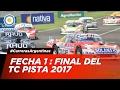 Automovilismo - Fecha 1 - Final TC Pista Mouras