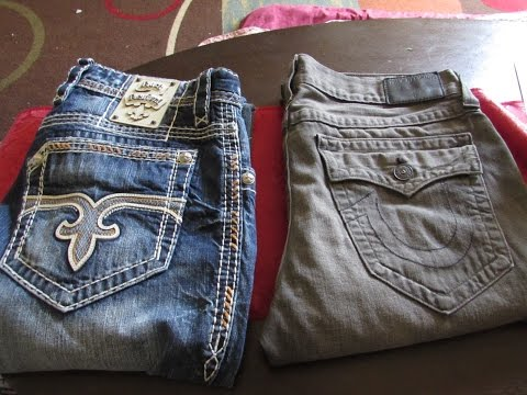 TRUE RELIGION VS ROCK REVIVAL JEANS ! WHO WINS??