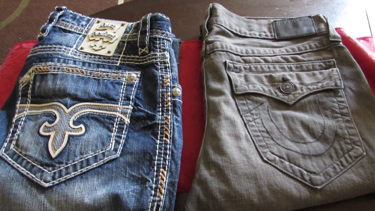 True Religion Vs Rock Revival Jeans Who Wins Youtube