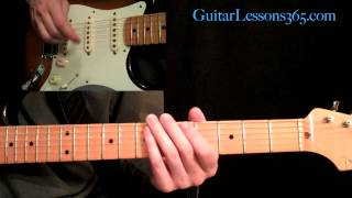Ozzy Osbourne - Crazy Train Guitar Lesson Pt.1 - Main Riff & Verse