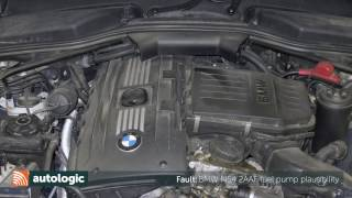 What causes Fault Code 2AAF in BMW?