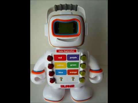 Playskool ALPHIE The Learning Electronic Talking Robot w/ 4 Booster Packs