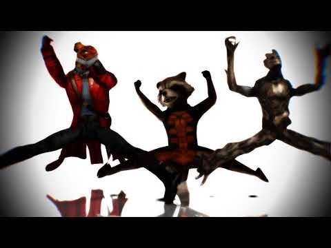 [MMD X Guardians Of The Galaxy]  HOTTO DOGU! (60fps) (Ver: Groot, Rocket Raccoon, Star Lord)