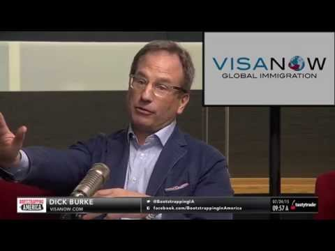 Dick Burke of VISANOW | Bootstrapping in America