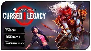 "Dead By Daylight ""Cursed Legacy Official Trailer"" - DBD ""Oni"" & ""Kimura Yui"" Trailer Breakdown!"
