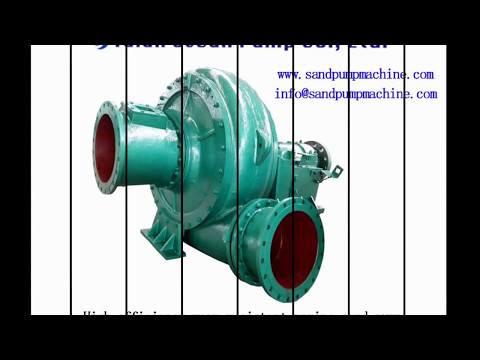 Marine sand pump of Tai'an ocean pump co.,ltd worked very well in Malaysia