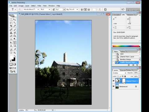 Image Editing In Photoshop - Faking A Polarizing Filter